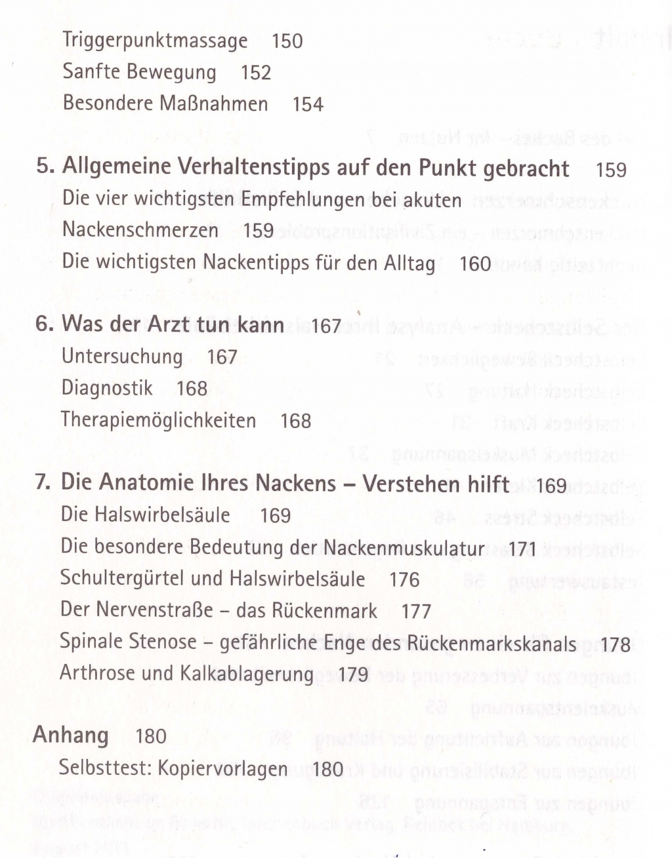 Atemberaubend Nackenschmerzen Anatomie Galerie - Anatomie Ideen ...