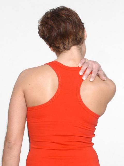 Schmerzen der Halswirbelsäule, des Nackens und der Schulter